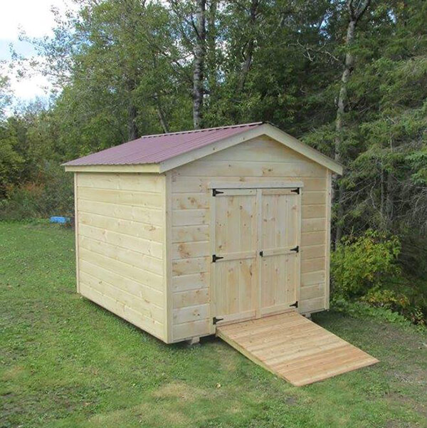 8x10 Storage Shed - New England Rent To Own, L