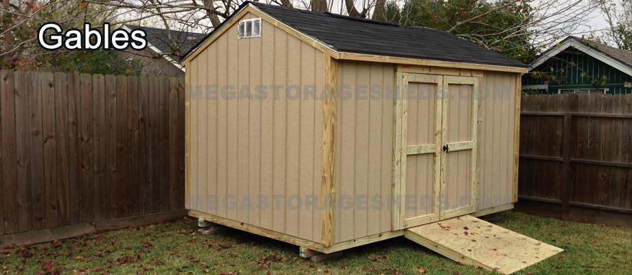 Storage Shed Houston - Mega Storage She