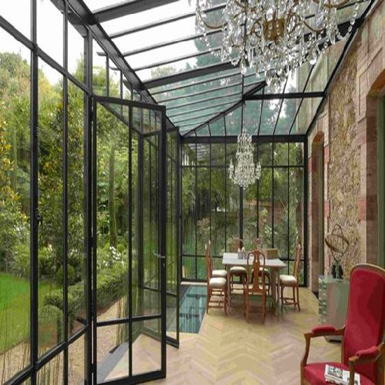 China Modern European Design Prefabricated Sunrooms, Prefabricated .