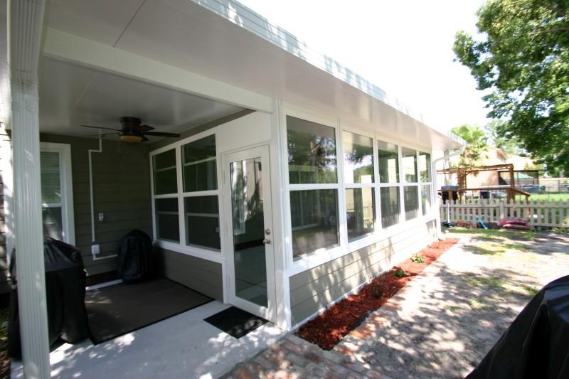 Sun Rooms - Martin Home Exteriors OK Jacksonville Sunroo