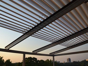 Retractable Waterproof Roofs and Pergolas from Issey Sun Shade .