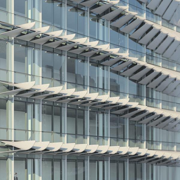 NBBJ Develops a Sunshade Prototype | Architect Magazi