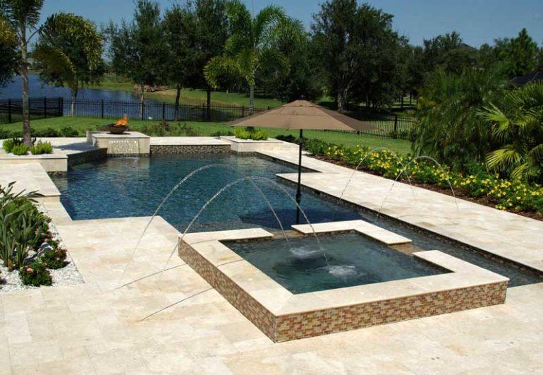 Trinity Swimming Pool Deck Ideas - Grand Vista Poo