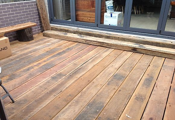 Recycled & Reclaimed Timber Decking & Boardwalks | Hardwood .