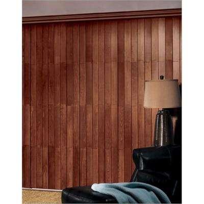 Dark Brown Wood - Vertical Blinds - Blinds - The Home Dep