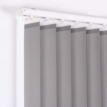 Copper Metallic Colored Fabric Vertical Blinds For Window - Buy .