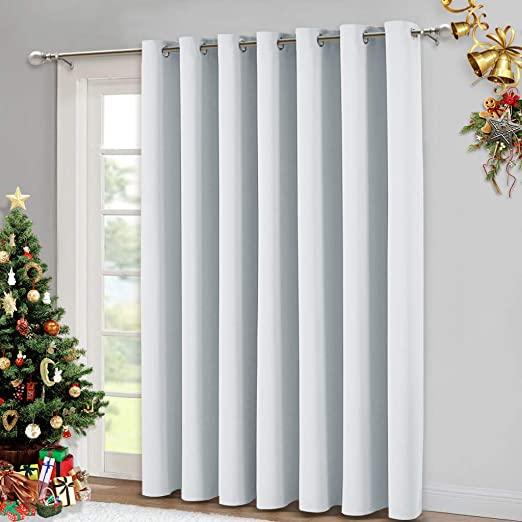 Amazon.com: NICETOWN Vertical Blinds for Sling Door - Silver .