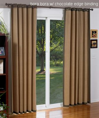 Bamboo Woven Vertical Blinds - Woven Wood Curtains - Vertical .