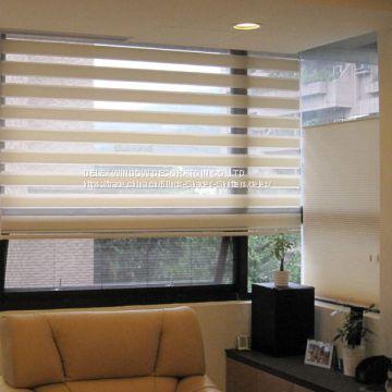 Blackout Zebra Blinds, Vision Blinds, Combi Blinds For Home Decor .
