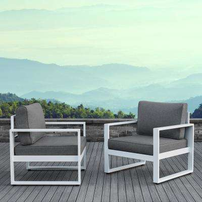 Real Flame - Lounge Chair - Aluminum - Patio Chairs - Patio .