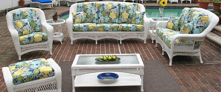 Wicker Patio Furniture, Furniture Sets, and Wicker Chai