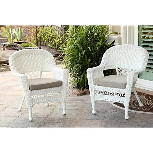 White Wicker Furniture: Amazon.c