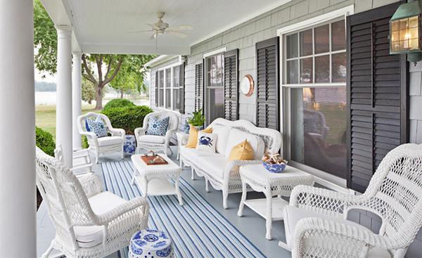 Get the Classic Charm of 15 White Wicker Furniture | Home Design Lov