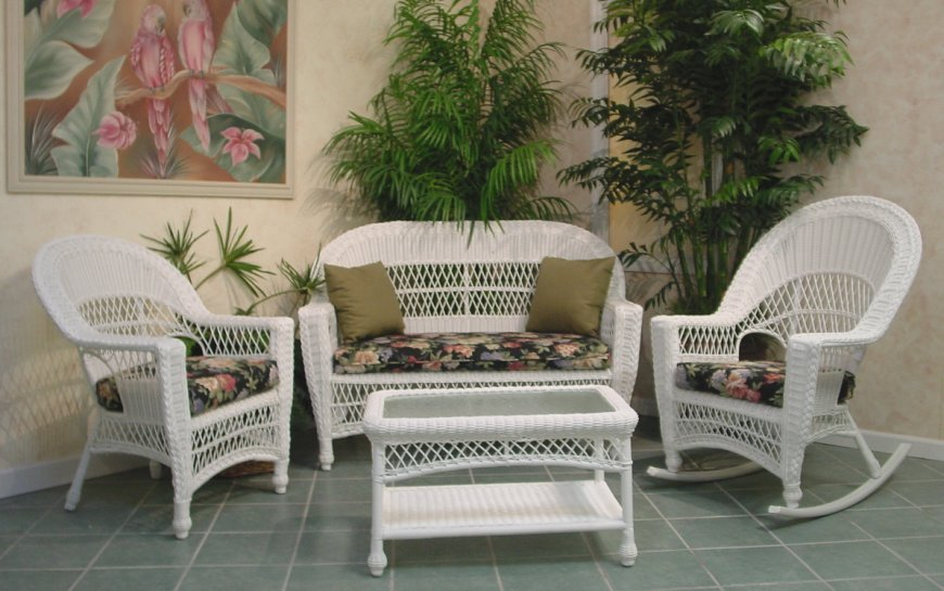 Amazing Patio Wicker Furniture Clearance And White Wicker Patio .