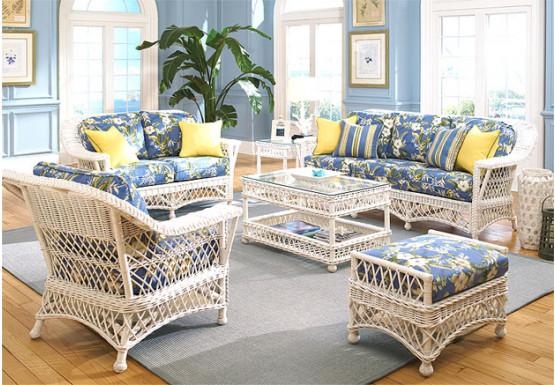 6 Piece Harbor Beach Wicker Furniture S