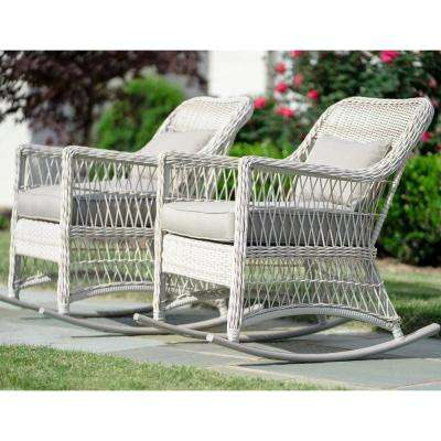 White - Steel - Lounge Chair - Patio Chairs - Patio Furniture .