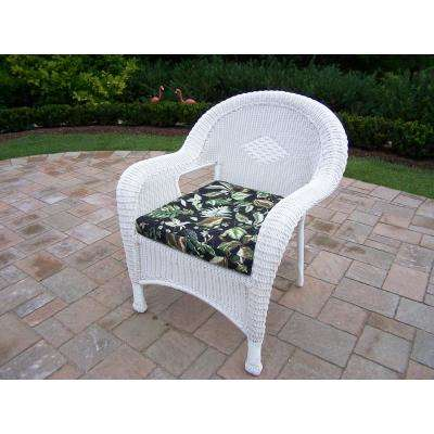 White - Black - Outdoor Lounge Chairs - Patio Chairs - The Home Dep