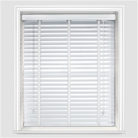 Designer Pure White with Tapes | Blinds, White wood blinds, White .