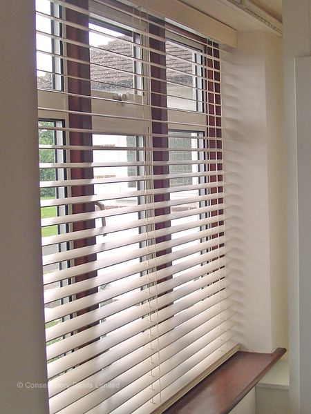 BLIVETAN.COM: WOODEN VENETIAN BLINDS WHITE - IKEA - LINDMON .