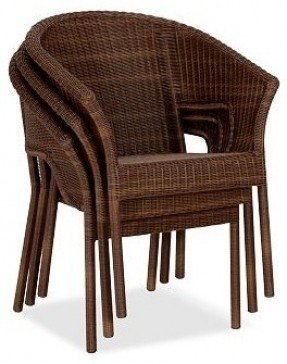 Wicker Stacking Arm Chairs - Ideas on Fot