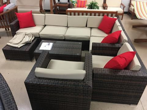 10 Piece Outdoor Wicker Patio Furniture Set Rattan – SDI Factory .