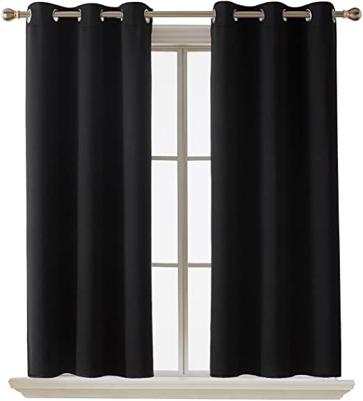 Amazon.com: Deconovo Room Darkening Thermal Insulated Blackout .
