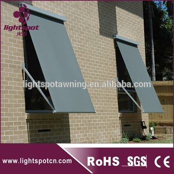 Outdoor Motorized Drop Arm Window Awning Sunshade - Buy .