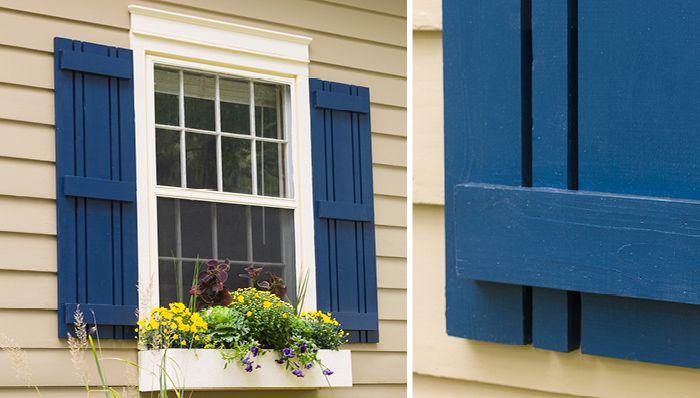 Simple DIY Window Shutte