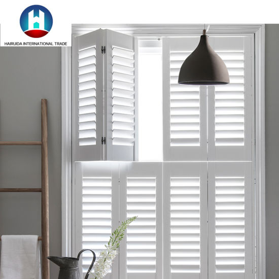 China Wholesale Factory Directly Interior Blinds PVC Window .
