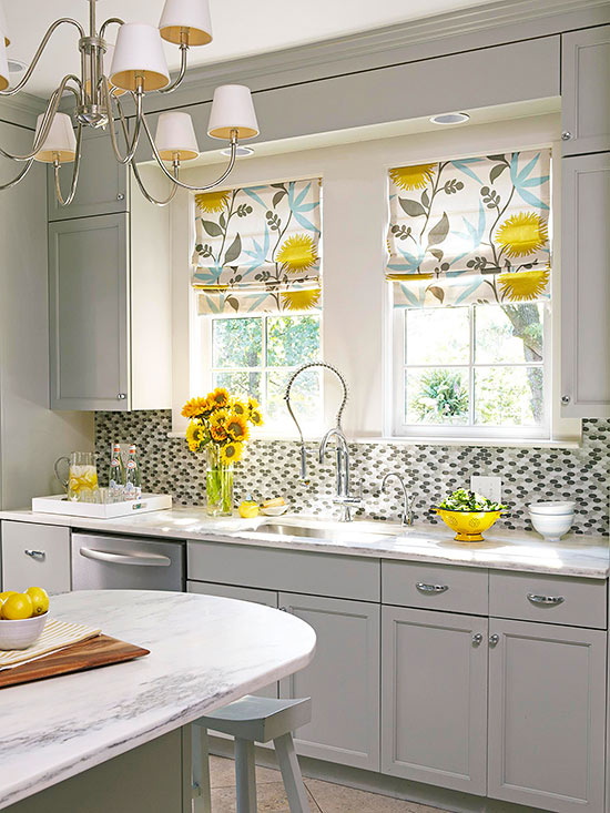Kitchen Window Treatments | Better Homes & Garde