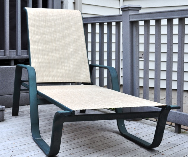 Winston Key West Patio Furniture Chaise Sling Replacements in .