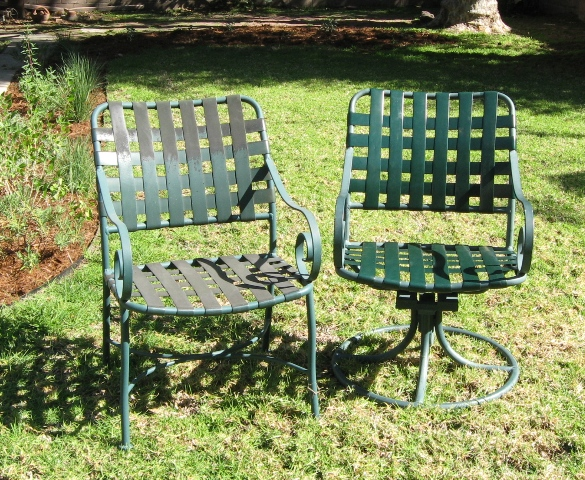 Winston Patio Furniture Vinyl Strap Replacements in Californ