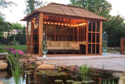 Wood Pergolas & Pavilions - Built to Last | Forever Redwo