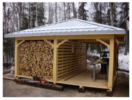 Wood Shed Competition Alaskan Style | Patio & Hearth Bl