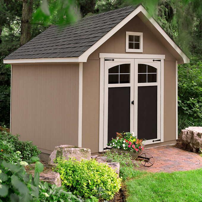 Ridgepointe 8' x 12' Wood Storage Sh