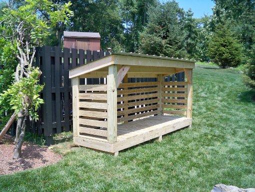 Wood Shed - Firewood Storage - Firewood Sh