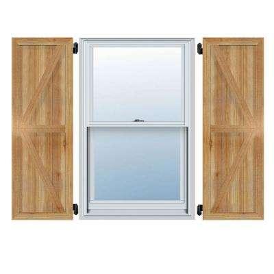 Wood - Exterior Shutters - Doors & Windows - The Home Dep