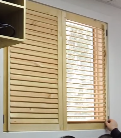 DIY - Making Wooden Blinds | Wooden blinds, Diy window blin