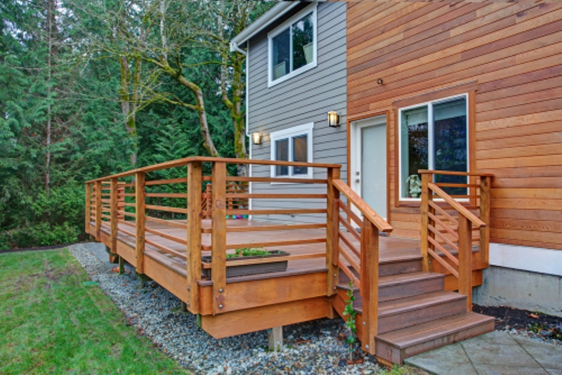 Signs You Need Wooden Deck Repair Servic