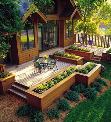 20 Wooden Deck Ideas - Neat And Cozy Home Ide