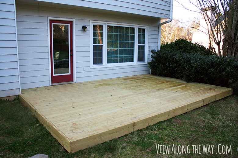 Deck and Cover! - * View Along the Way