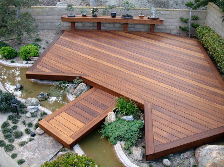 Wonderful Wooden Decks For Your Dream Gard