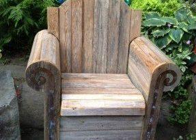Wooden Garden Chairs - Ideas on Fot