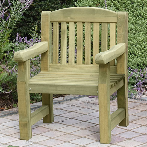 trully wood: Uncomplicated means Garden furniture timb