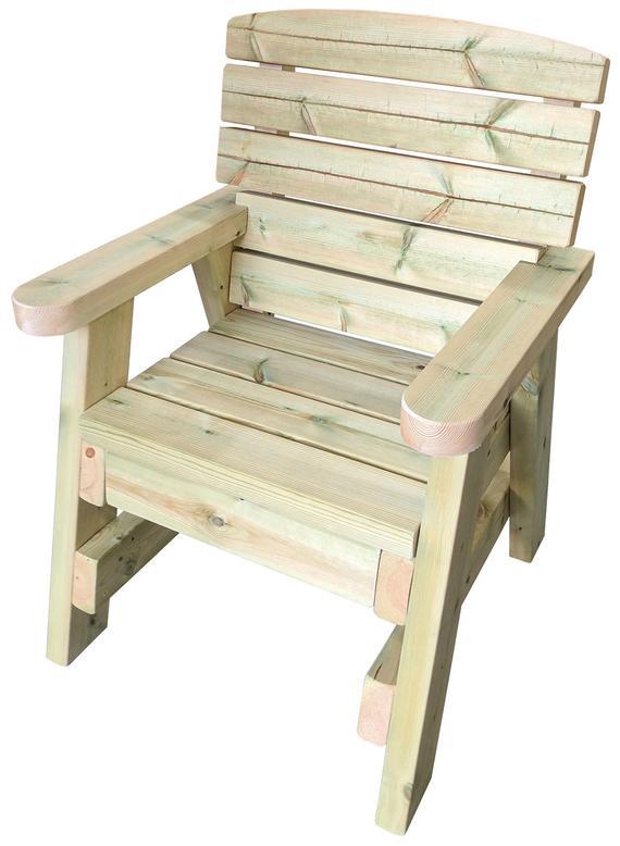 Heavy duty Wooden Garden Chair | Et