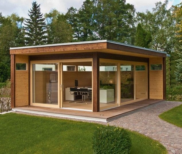 Arts and Crafts style shelves in 2020 | Outdoor sheds, Shed design .