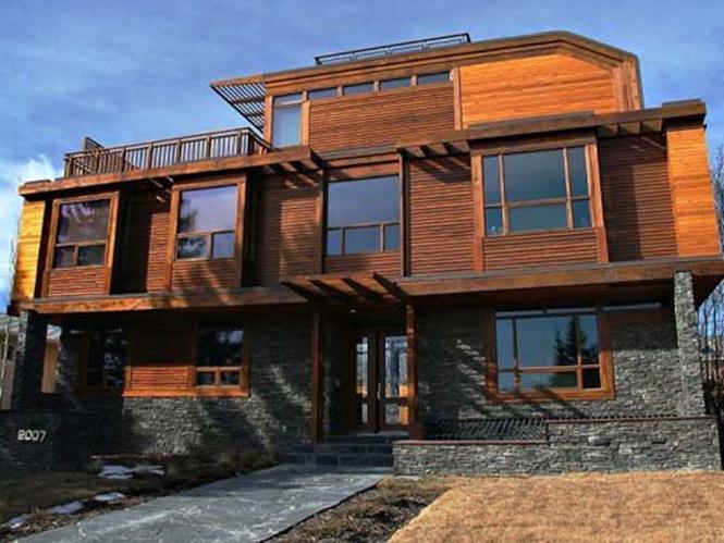 Modern Wooden House Exterior Model - 2020 Ide