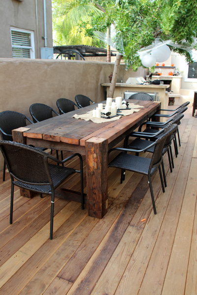 Bagoes Teak Furniture (With images) | Outdoor patio table, Diy .