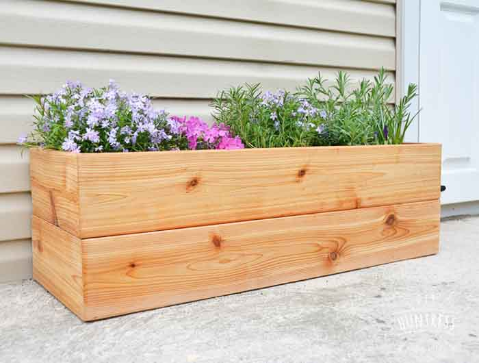 20 Easy and Amazing DIY wooden planter box ide