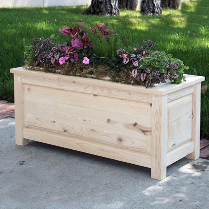Wooden Planters - Deck Planters - Wood Planter Boxes | Material: Wo